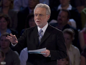 CNN Anchor Wolf Blitzer