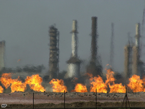 oil fields in Iraq