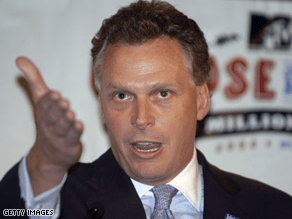 McAuliffe said Clinton is in the race through June 3.