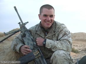 Marine Sgt. Jesse Strong.