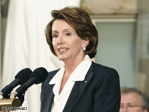 So you have a question for Nancy Pelosi?'