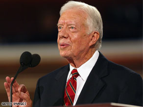 Former President Jimmy Carter is expected travel to North Korea on Tuesday to free a detained American.