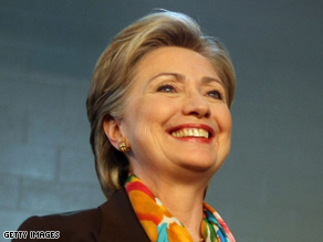 Clinton is reportedly interested in being Obama's running mate.