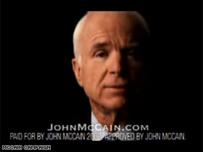 McCain is out with a new ad.