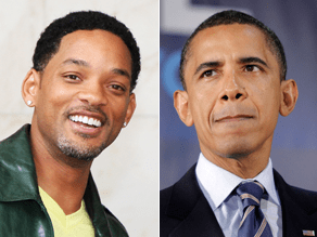 Will Smith says he'd make a good Obama.