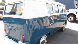VW Van found