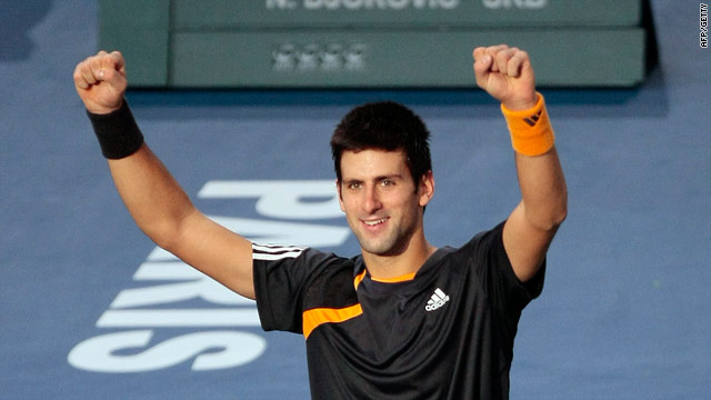 Djokovic has beaten Federer and Nadal in the space of a week.