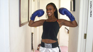 Boxing Mitrice Richardson...In fighting shape!