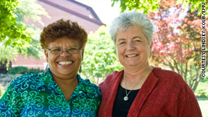 Betty and Phoebe Kilby first met in February 2007. They are linked by a slave past.