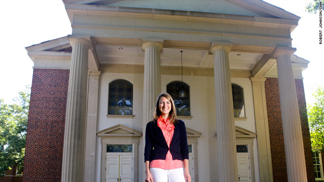 Anne Havard of Atlanta, Georgia, may be a rarity. She's an American teenager who is passionate about her Christian faith.