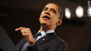 President Obama has faced tough criticism for his handling of the economy.