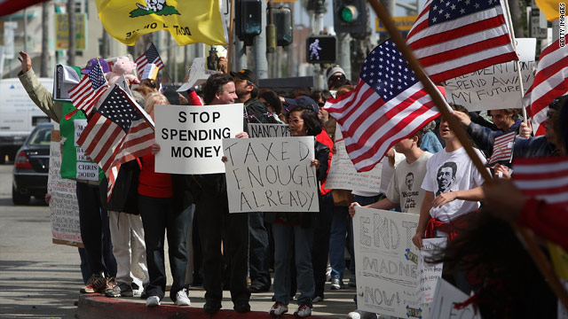 Tax Day 2009 Tea Parties attracted some 300,000 people nationwide.