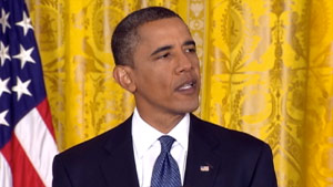 President Obama said Friday that there is 'room for discussion' on competing tax plans.