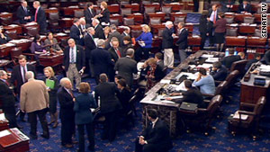 The Senate voted 53 to 36 to end debate on whether to extend tax cuts.