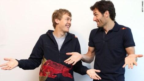 Mark Webber says he and Red Bull teammate Sebastian Vettel are united.