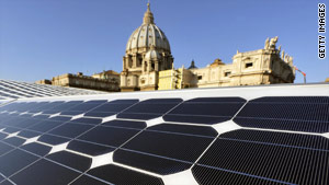 Na cidade do Vaticano!