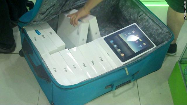 iPad em Hong Kong