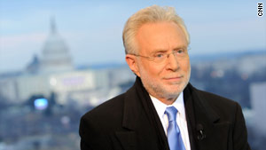 Wolf Blitzer has lived in the Washington area for 39 years.