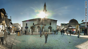 With its copper-domed bathhouses and Ottoman trading inns, the Turkish quarter is one of the oldest parts of the city.