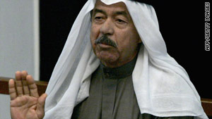 "Al Hassan al-Majeed, known as ""Chemical Ali,"" was convicted of killings and genocide."