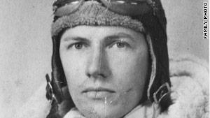 Emil Mikula graduated from flight school in 1942.