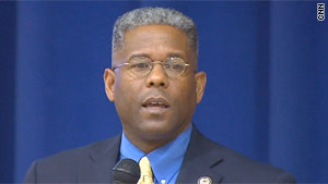 Florida Rep. Allen West had a confrontation with an Islamic activist at a town hall meeting.