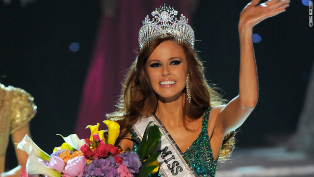 Miss California Alyssa Campanella was crowned Miss USA Sunday night in Las Vegas.