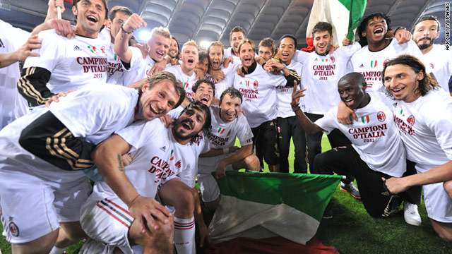 Milan crowned Serie A champions after Roma draw - CNN.com