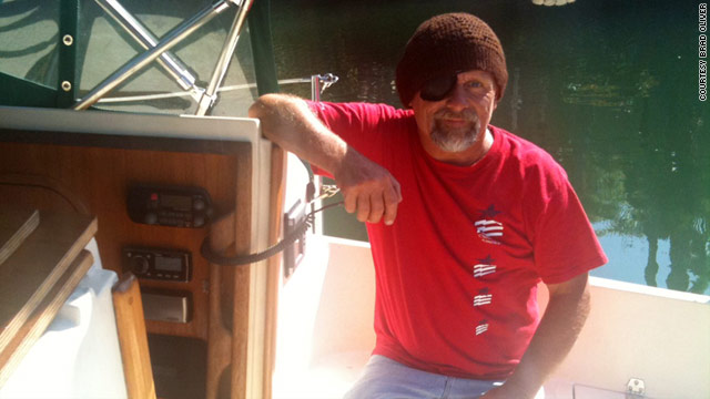 Dennis Howard is preparing for a solo voyage around the world.