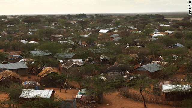 Nearly 1,300 people, including children, are arriving daily at the Dadaab refugee camps in Kenya.