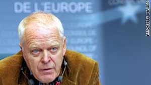 (file photo) Thomas Hammarberg, the human rights commissioner for the Council of Europe.