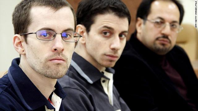 Josh Fattal (middle) and Shane Bauer (left) were seized in 2009, when they were hiking in the Iraqi Kurdish region.