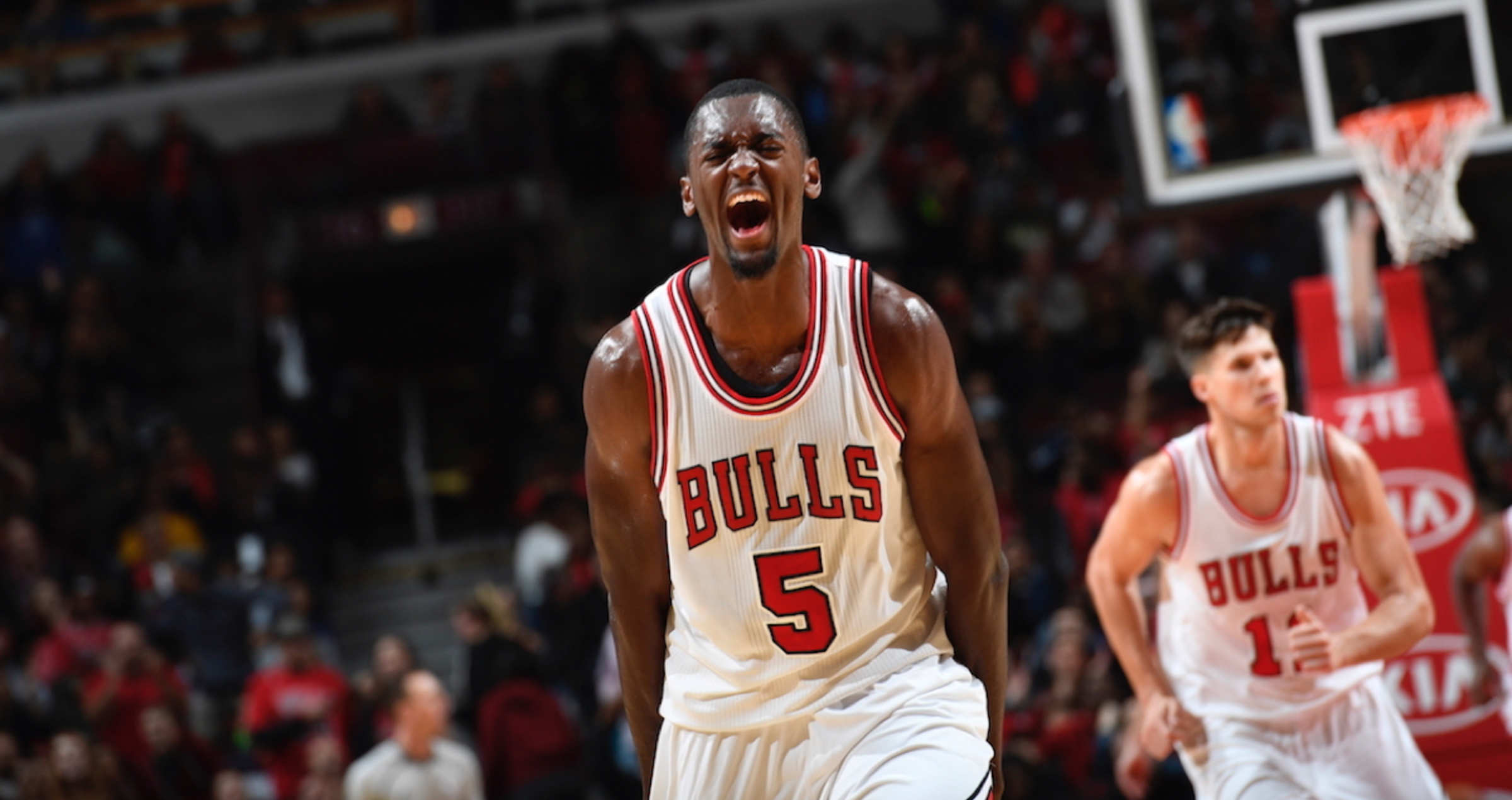Image result for chicago bulls bobby portis and mirotic