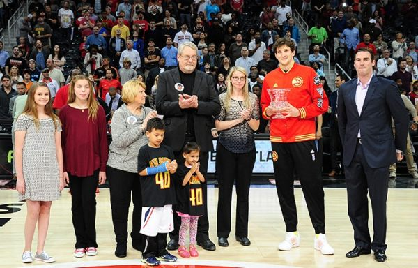 Mike Muscala Awarded Jason Collier Memorial Trophy ...