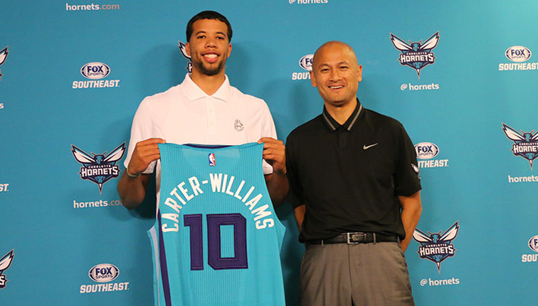 Image result for michael carter williams hornets