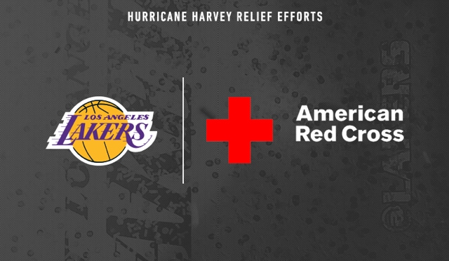 Lakers To Make Donation To Red Cross For Hurricane Harvey Relief Efforts Los Angeles Lakers