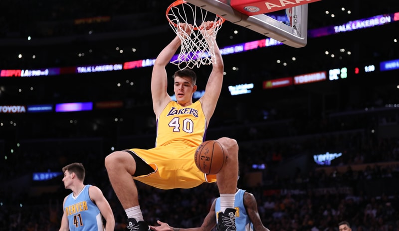 lakers,zubac,ivica zubac,dunk,mate