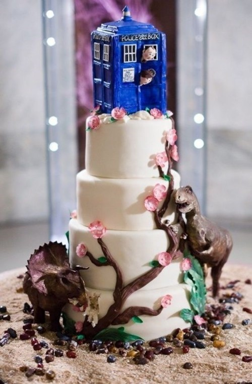You re Marrying Who    Wedinator   funny wedding photos cake dinosaurs doctor who series 7 tardis   6611618816