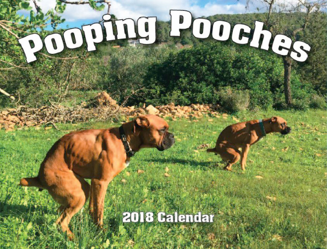 2018 Pooping Pooches Calendar Is Here I Can Has