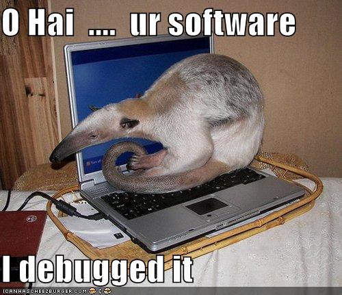 O Hai Ur Software I Debugged It Cheezburger Funny