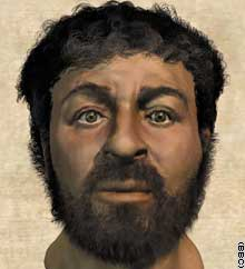 the face of jesus?