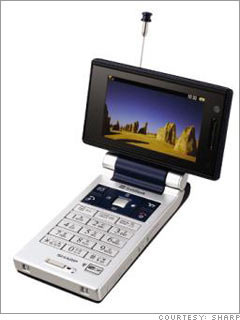 Mobile video telephone