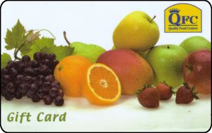 Gift Card Fruit Kroger Qfc United States Of America
