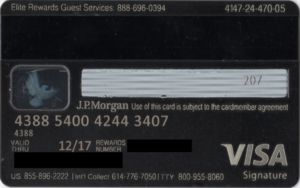 When people go shopping for a new credit card, they want to make a decision based on what their particular needs are. Bank Card The Ritz Carlton Rewards J P Morgan United States Of America Col Us Vi 0487