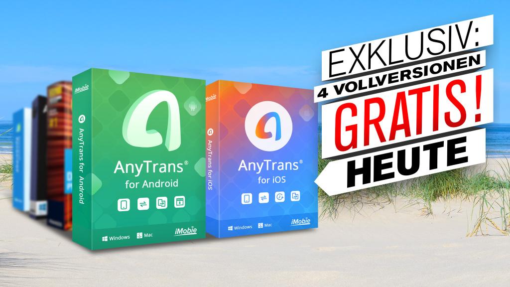 Insta :  Version complète gratuite: AnyTrans pour iOS et Android