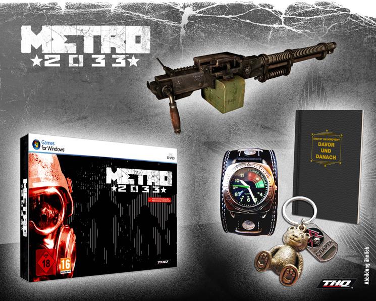 Metro 2033 Special Edition Mit Kurzgeschichte Von Dmitry