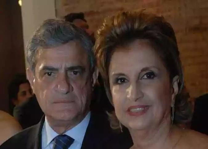 Nando Chiappetta / Arquivo DP(foto: Guilherme Patury e Fátima Patury em evento em 2011.)