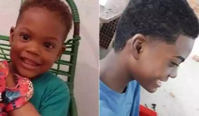 Irmãos de 2 e 14 anos morrem eletrocutados em São Gonçalo, no Grande Rio (foto: Reprodução/TV Globo)