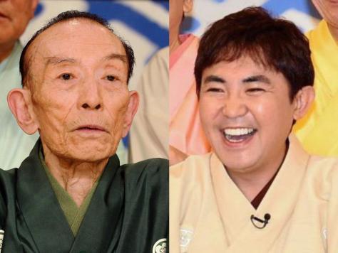 桂歌丸さんと林家三平