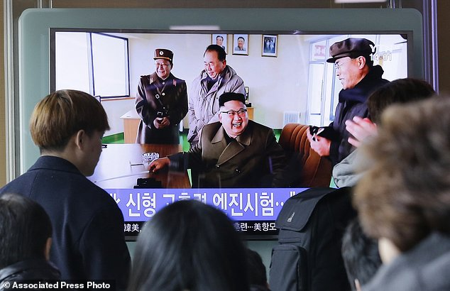 North Korea has conducted a ground test of a new type of high-thrust rocket engine